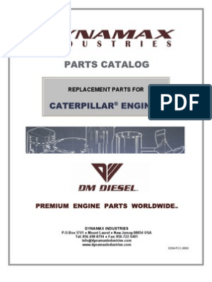 Spare Parts Caterpillar | Turbocharger | Engines