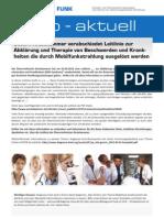 Info aktuell Österreichische Ärztekammer Leitlinien für EHS - Aufruf zur Sammlung von Ärzteadressen