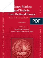 Money, Markets and Trade in Late Medieval Europe
