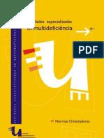 Unidades Especializadas em Multideficiência  - Normas Orientadoras