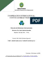 Convocatoria c.i. 10-06-12