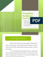 Presentasi Praktikum HE (Fix)