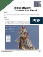 Ton Miles Calculator User Manual