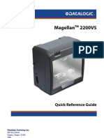 Quick Reference Guide (QRG), Magellan 2200VS (Multi-Lingual)