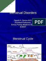 Menstrual Disorders[1]