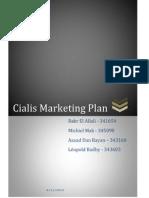 Cialis Marketing Plan