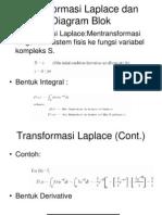 Transformasi Laplace Dan Diagram Blok