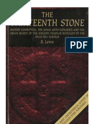 The Thirteenth Stone Temple In Jerusalem Jesus