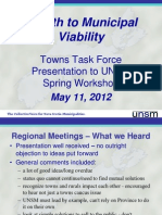 Towns Task Force Report