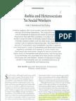 13Homophobia and Heterosexism in Social Workers Cathy S. Berkman and Gail Zittberg