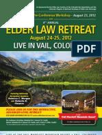 Elder Law Retreat 2012
