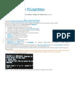 Manual Para Pcloginnow