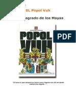 Libro Sagrado de Los Mayas