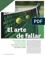 Osorio HBR El Arte de Fallar