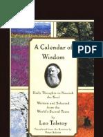 Tolstoy's Calendar of Wisdom
