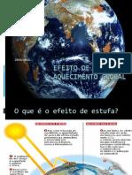 Aquecimento Global e Efeito de Estufa