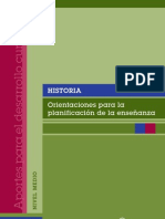 Historia Completo Contenidos,Objetivos