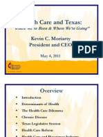 Health Care and Texas May 2011