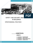Final Safety and Security Measures in Buildings