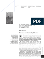 Paul Virilio - Democracy of Emotion
