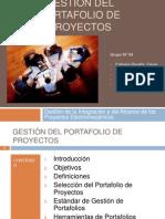 Gestión del portafolio de proyectos