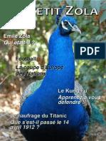 Le Petit Zola - N° 1