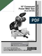 Delta Shop Master SM100M Compound Miter Saw