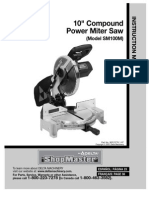 Delta Shop Master SM100M Compound Miter Saw