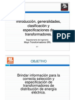 Introducción Transformadores