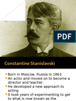 Stanislavski's Methods