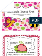 Incredible Insect Literacy Centers Free