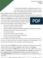 """""""El ABC de las Franquicias por Ferenz Feher Tocatli"""" 7 de Abril de 2008-Revista COPARMEX Durango"""