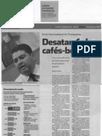 """""""Desatan fiebre cafés-boutique"""" 13 de Marzo de 2008-Reforma"""