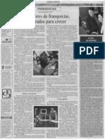 """""""Consultores de Franquicias, preparados para crecer"""" 23 de Enero de 2008-El Financiero"""