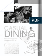 """""""Casual dining"""" ServiAlimentos-2008"""