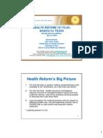Health Reform 101 Plus