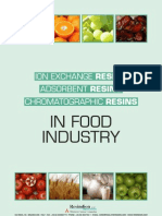 Ion-Exchange and Adsorbent Resins for Food Industry (1)