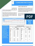 Consumer Price Index - Apr 12