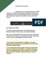 Informacion de La via Lactea