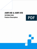 ZTE UMTS AMR-NB and AMR-WB Feature Description