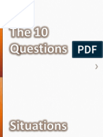 10 Questions to Go
