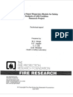 NFPA LNG Vapor Dispersion Model Evaluation 2007