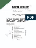 Anti Futuriste