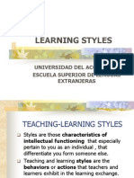 Learning Styles Ppp