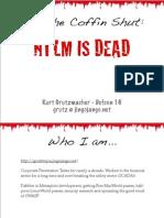 NTLM is Dead - DefCon 16