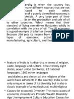 Economi Diversity