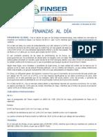 Finanzas al Día 13.06.12