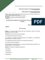 Codigo de Procedimientos Civiles Para El Estado de Michoacan...