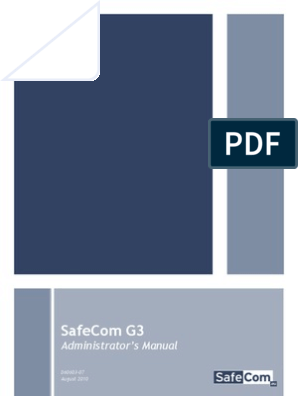 G3 Administrators Guide | Installation (Computer Programs