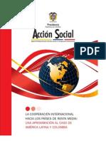 La Cooperacion Internacional Hacia Los Paises de Renta Media Una Aproximacion Al Caso de America Latina y Colombia